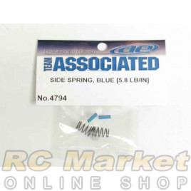ASSOCIATED 4794 RC10F6 Side Springs, Blue, 5.8 lb/in (in kit)