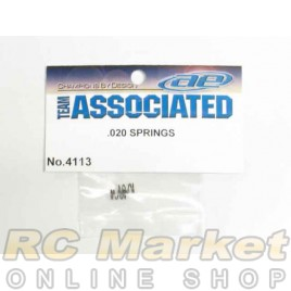 ASSOCIATED 4113 Springs, .020, Short