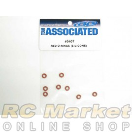 ASSOCIATED 5407 O-Rings, Red, Silicone