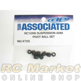 ASSOCIATED 4755 RC10F6 Suspension Arm Pivot Ball Set