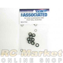 ASSOCIATED 4754 RC10F6 Suspension Arm Pivot Ball Bushings