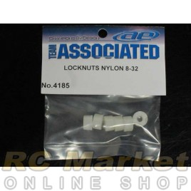ASSOCIATED 4185 Nylon Locknuts, 8-23