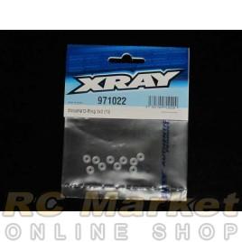 XRAY 971022 Silicone O-Ring 2X2  (10)