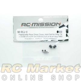 RC MISSION MI-RCJ-X Highquality Rear Drive Cross Joint set for Xray 2pcs