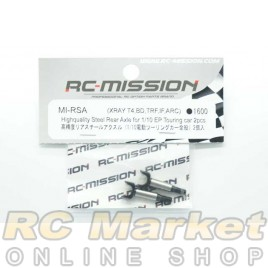RC MISSION MI-RSA Highquality Rear Steel Axle for Xray,Yokomo,IF,Tamiya