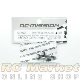 RC MISSION MI-RSA Highquality Rear Steel Axle for Xray,Yokomo,IF,Tamiya