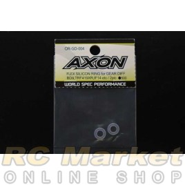 AXON OR-GD-004 Flex Silicon Ring For Gear Diff (P5) 2pic