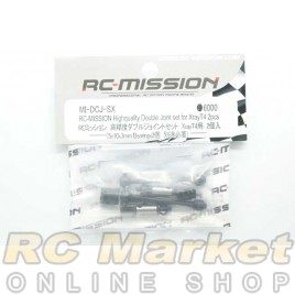 RC MISSION MI-DCJ-SX High Quality Double Joint Set For Xray 2Pcs