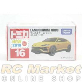 TOMICA No.16 Lamborghini Urus - New 2019