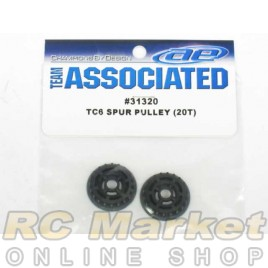ASSOCIATED 31320 Spur Pulley, 20T
