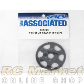 ASSOCIATED 31335 Spur Gear, 115T 64P