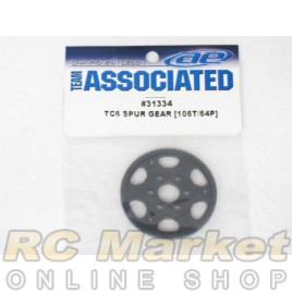 ASSOCIATED 31334 Spur Gear, 106T 64P