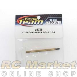 ASSOCIATED 6416 FT Gold Shock Shaft, 1.32 in Stroke