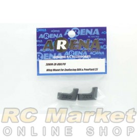 ARENA 3DWM-ZR-DBX/PO Wing Mount For ZooRacing DBX / PreoPard & BAYBEE (2)