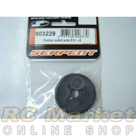SERPENT 903229 Rear 51T Pulley with Clip