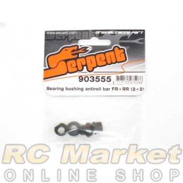 SERPENT 903555 Bearing Bushing Antiroll bar FR+RR (2+2)