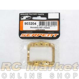 SERPENT 903204 Mono Engine Mount Brass 960/966