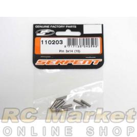 SERPENT 110203 Pin 3x14 (10)