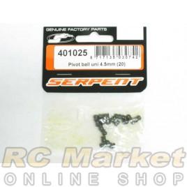 SERPENT 401025 Pivot Ball 4.5mm (20)