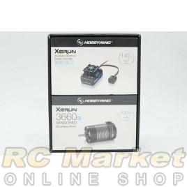 HOBBYWING 38020411 Xerun XR8 SCT-3660SD 4300kv Combo Set