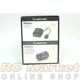 HOBBYWING 38020405 Xerun XR8 Plus 4268-1900kv Combo