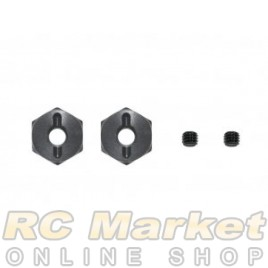 SERPENT 801218 Wheel Hexagon Alu 0mm (2)