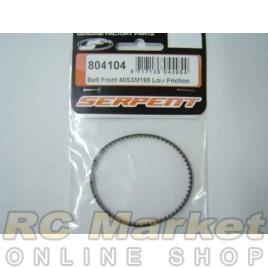 SERPENT 804104 Belt Front 40S3M195 Low Friction