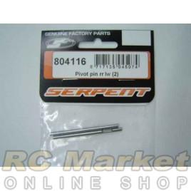 SERPENT 804116 Pivot Pin RR LW (2)
