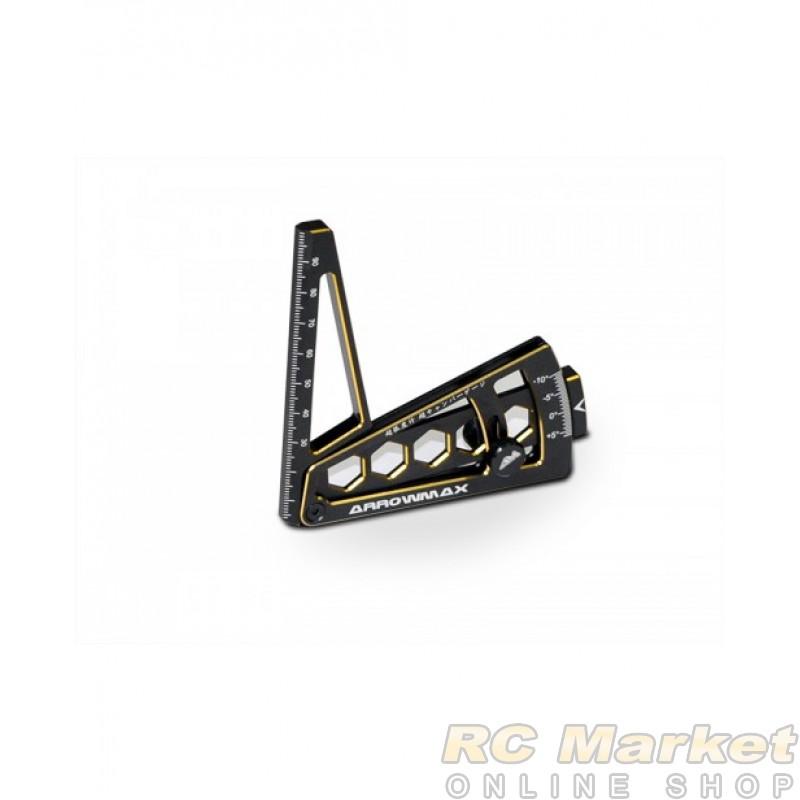 ARROWMAX 171097 Ultra Camber Gaurge For 1/10th Black Golden