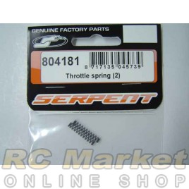 SERPENT 804181 Throttle Spring (2)