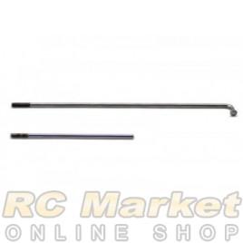 SERPENT 804329 Brake/Throttle Wire Set 748 (2)