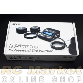 SKYRC 600064-04 RCTW PRO Professional Tire Warmer Black Version