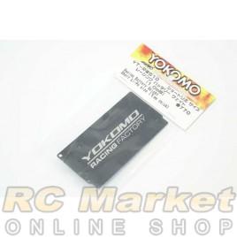 YOKOMO YT-RWS10 Racing Battery Weight Short Li-Pro size (1mm thick)