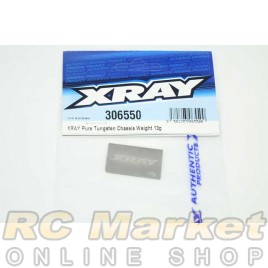 XRAY 306550 Pure Tungsten Chassis Weight 13g