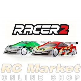 MON-TECH 019-006 RACER 2 Standard Weight 1/10 Touring Car Bodyshell