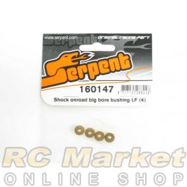 SERPENT 160147 Shock Onroad Big Bore Bushing LF (4)