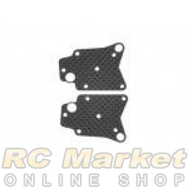 SERPENT 804435 Wishbone Insert Carbon RR LW (2)