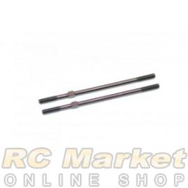 SERPENT 902128 Track-Rod Steel 1/8 (2)