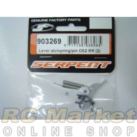 SERPENT 903269 Lever Alu/Spring/Pin OS2 RR (2)