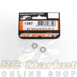 SERPENT 1397 Ball Bearing 8x12x3,5 SS (2)