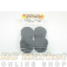 "YOKOMO TF-4662L Front CRT ""L"" Rubber Tire"