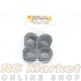 "YOKOMO TR-4624SA Rear CRT ""SA"" Rubber Tire (T-Pink/4pcs) for 1/12 Racing"