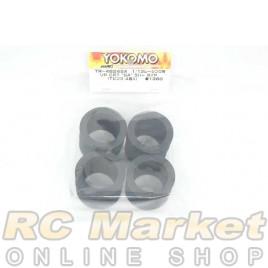 "YOKOMO TR-4624SA Rear CRT ""SA"" Rubber Tire (T-Pink/4pcs) for 1/12 Racing"