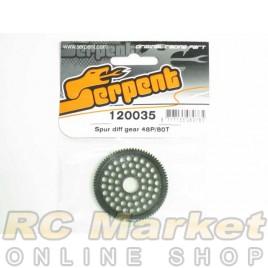 SERPENT 120035 Spur Diff Gear 48P/80T