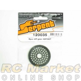 SERPENT 120035 Spur Diff Gear 48P/80T