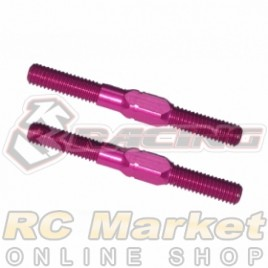 3RACING 3RAC-TR328AL/PK Turnbuckle (7075) 28mm