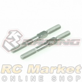 3RACING 3RAC-TR332 64 Titanium 3mm Turnbuckle - 32mm (2pcs)