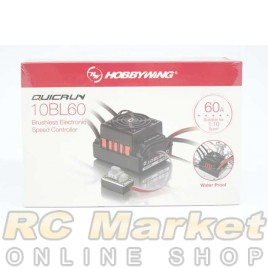 HOBBYWING 30107100 QUICRUN Water Proof 10BL60 Brushless ESC