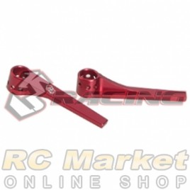 3RACING 3RAC-BP128/RE Rear-End Stiffener - Red