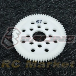 3RACING 3RAC-SG4867 48 Pitch Spur Gear 67T